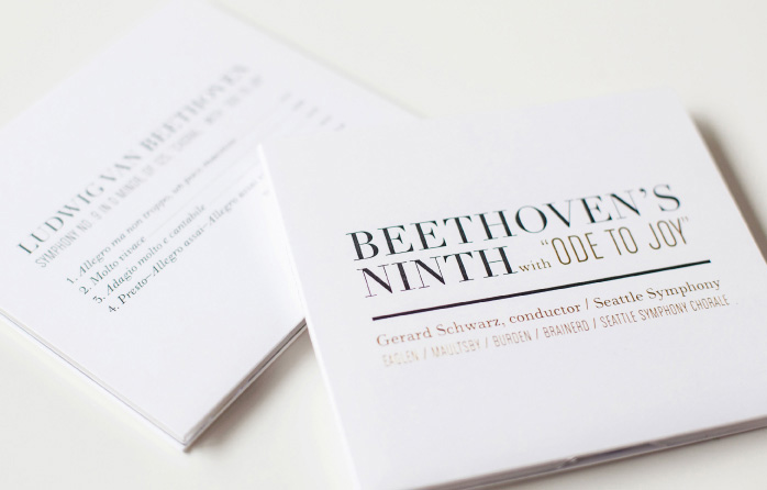 Beethoven CD Packaging