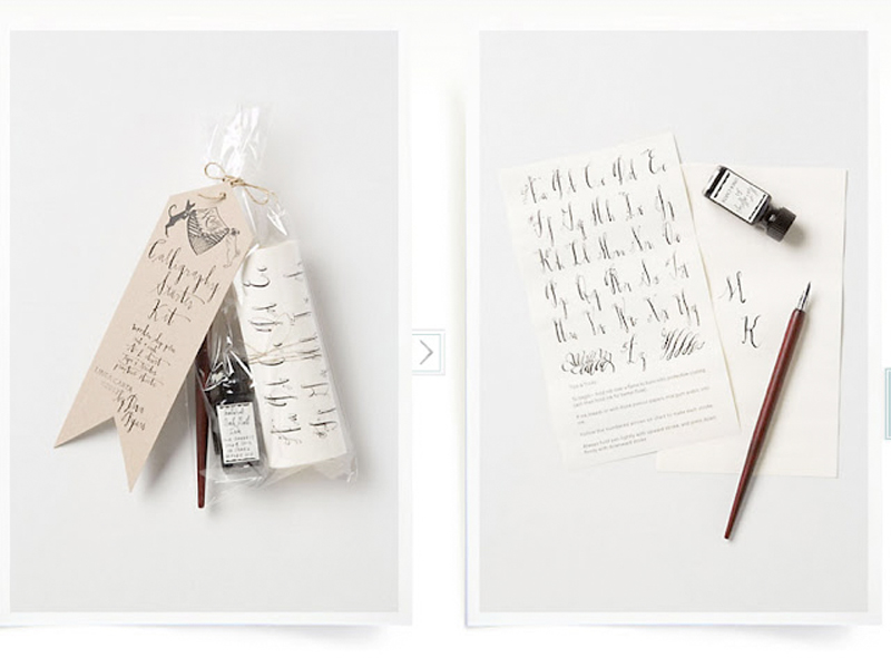 Calligraphy Starter Kit From Linea Carta