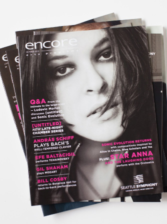 Encore Magazine Redesign