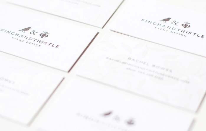 Finch And Thistle Branding
