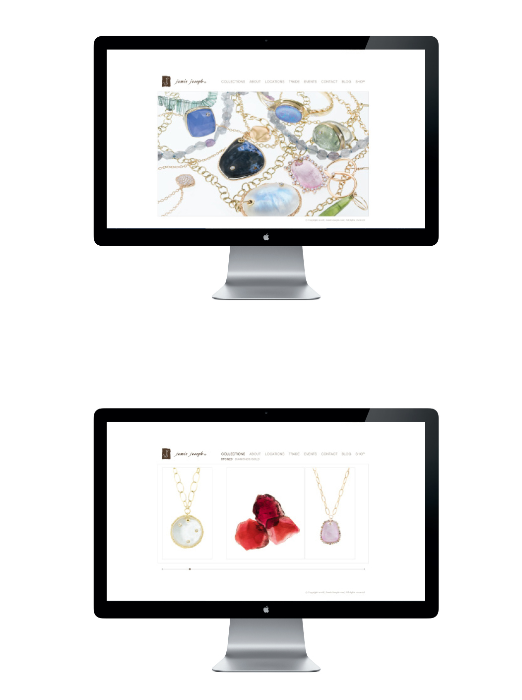 Jamie Joseph Jewelry Website