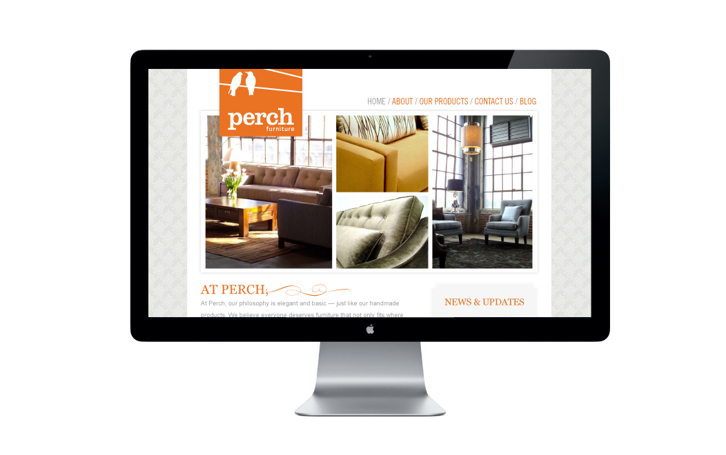 PerchFurnitureWebsiteByIwonaK.com