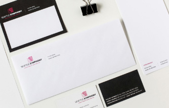 Seattle Symphony Stationery