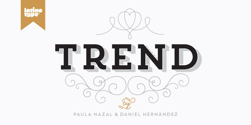 Trend Font By Linotype
