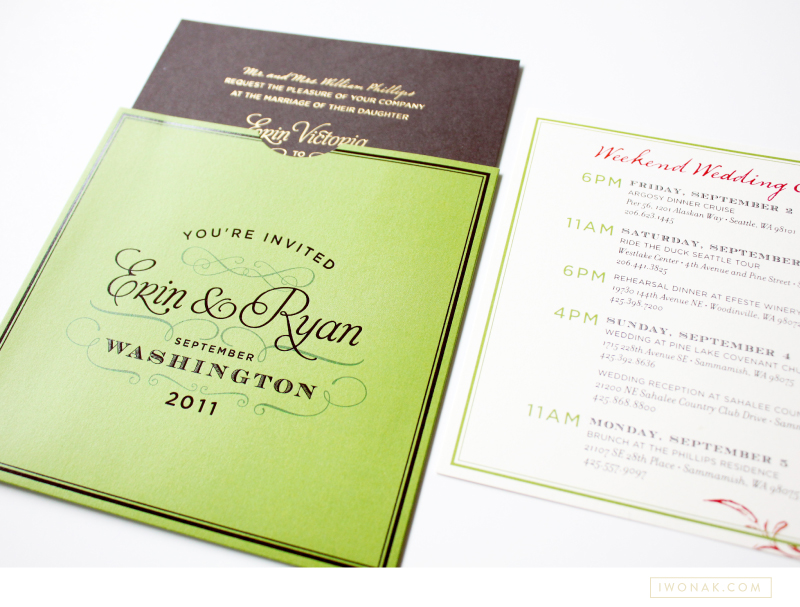 Erin&RyanCustomWeddingInvitationsSeattle