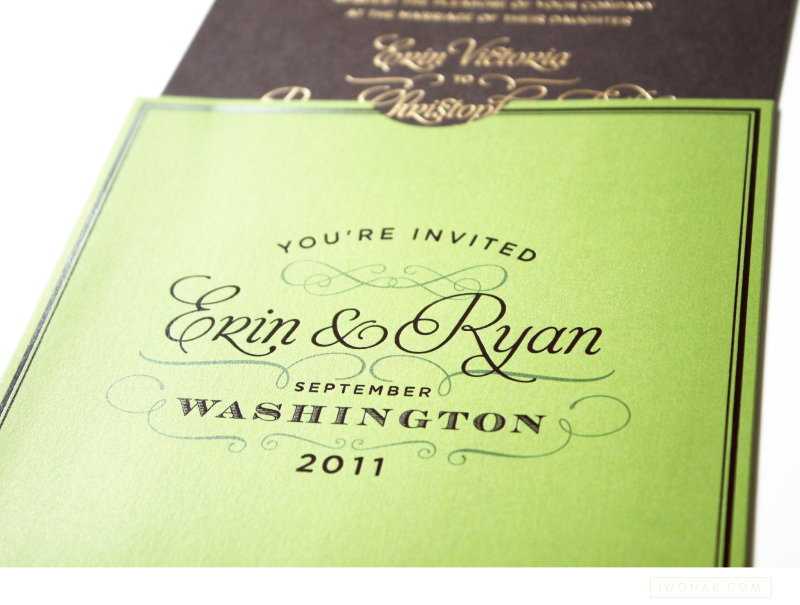 Erin&RyanFoilWeddingInvitations
