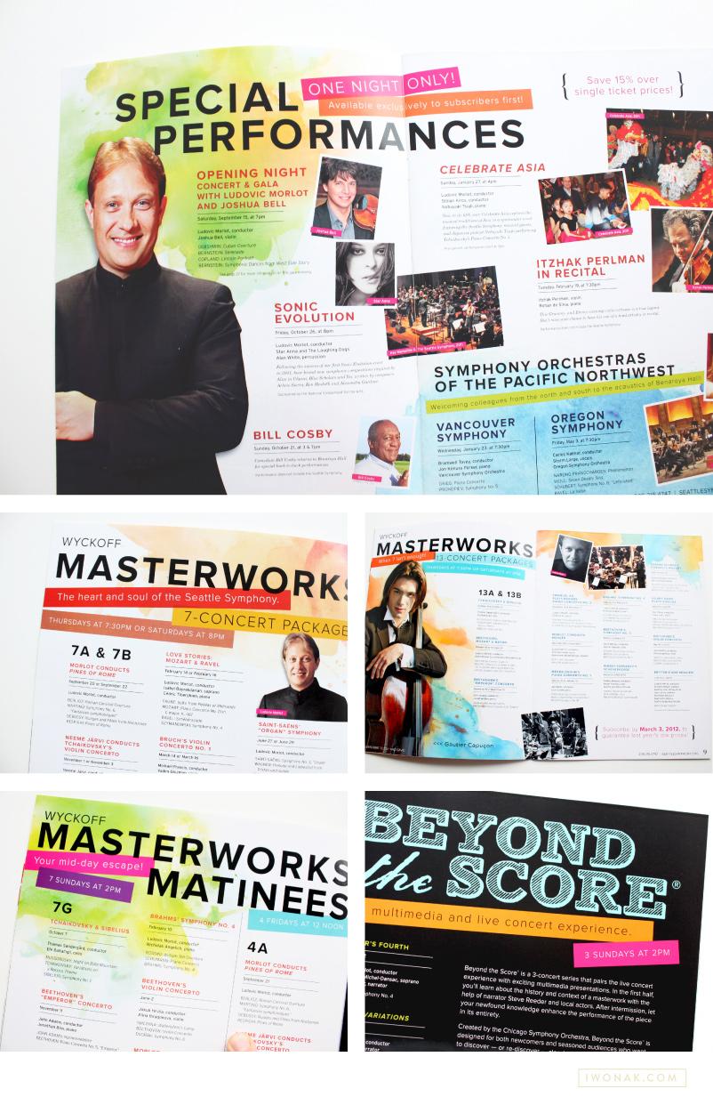 1213 Seattle Symphony brochure pages by Iwona Konarski