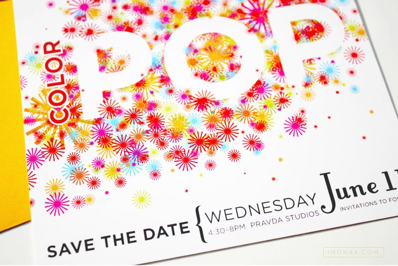 Corporate event invitations | Designed by Iwona Konarski #invitation #design #stationery #details #color #event #iwonak.com