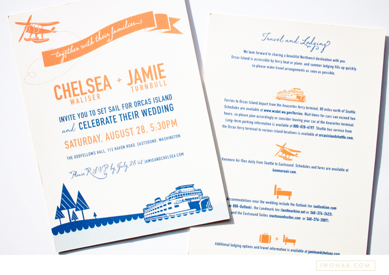 orcas island wedding iwonak direction graphic design and more