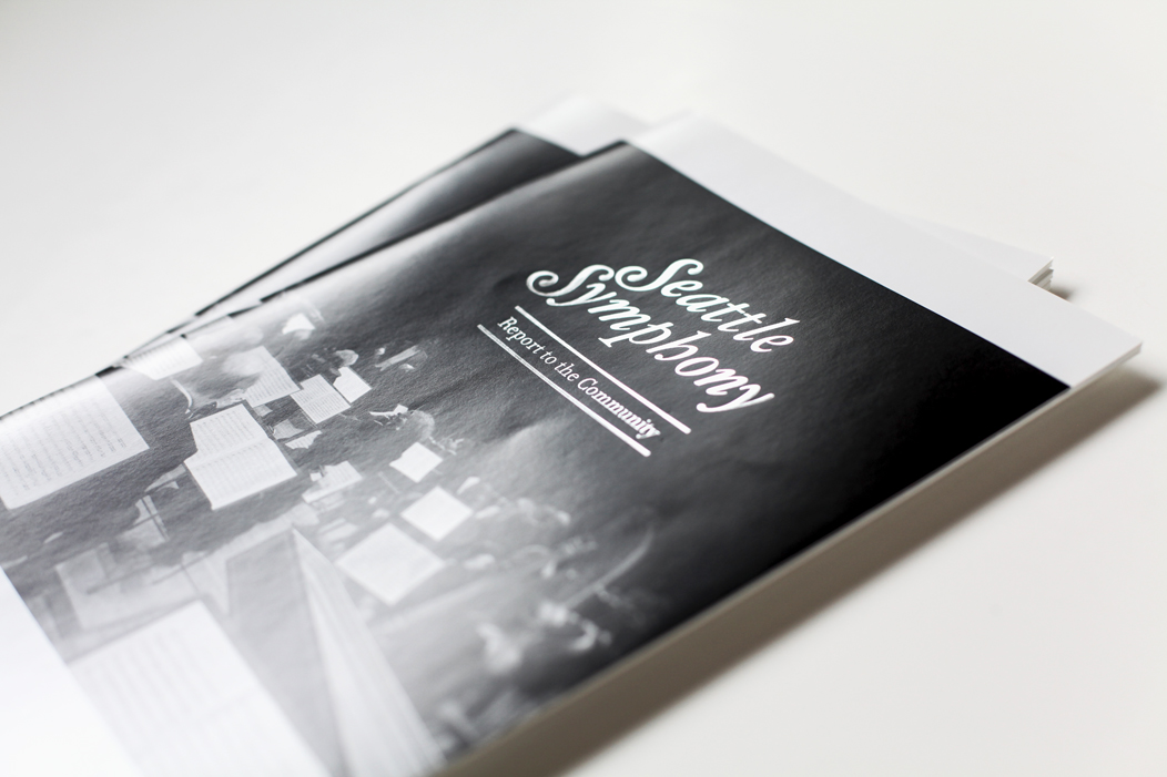 Annual Report designed by Iwona Konarski  | Clean and modern design, black and white with silver foil on the cover  |  #print  #layout #silverfoil #blackandwhite #design #iwonak.com