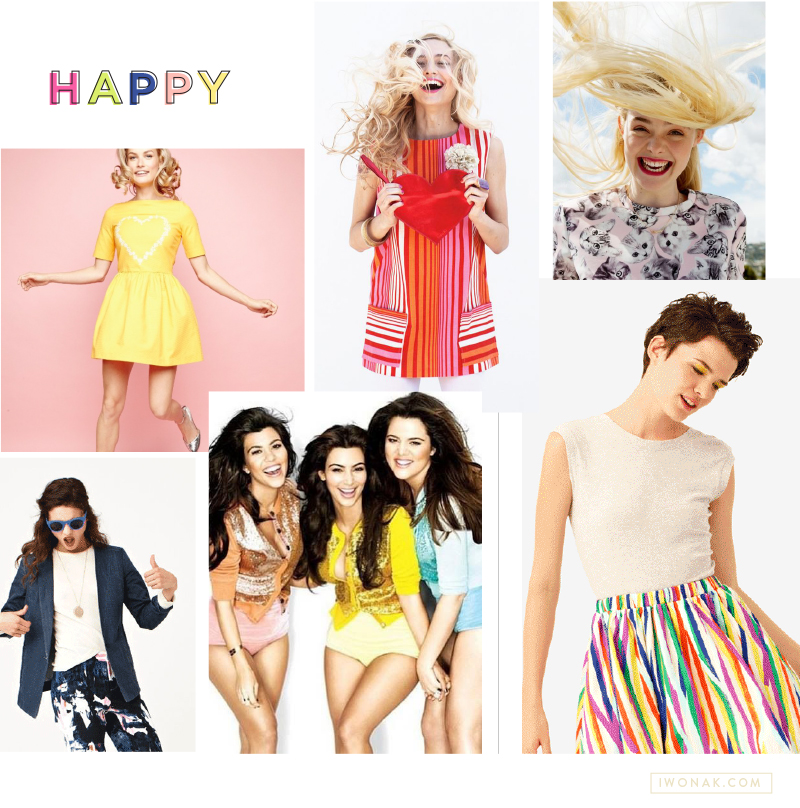 Happy | Color | Style | Mood Board by IwonaK.com